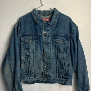 Wrangler Denim Jean God Bless America Jacket